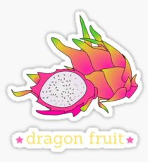 Exotic Dragon Fruit Pitaya Pitahaya Cactus T-Shirt Sticker