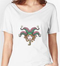 Joker Girl Face Women's Relaxed Fit T-Shirt