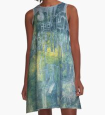 Maze A-Line Dress