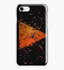 Urban Abstract Triangular Sunset Explosion iPhone Case/Skin
