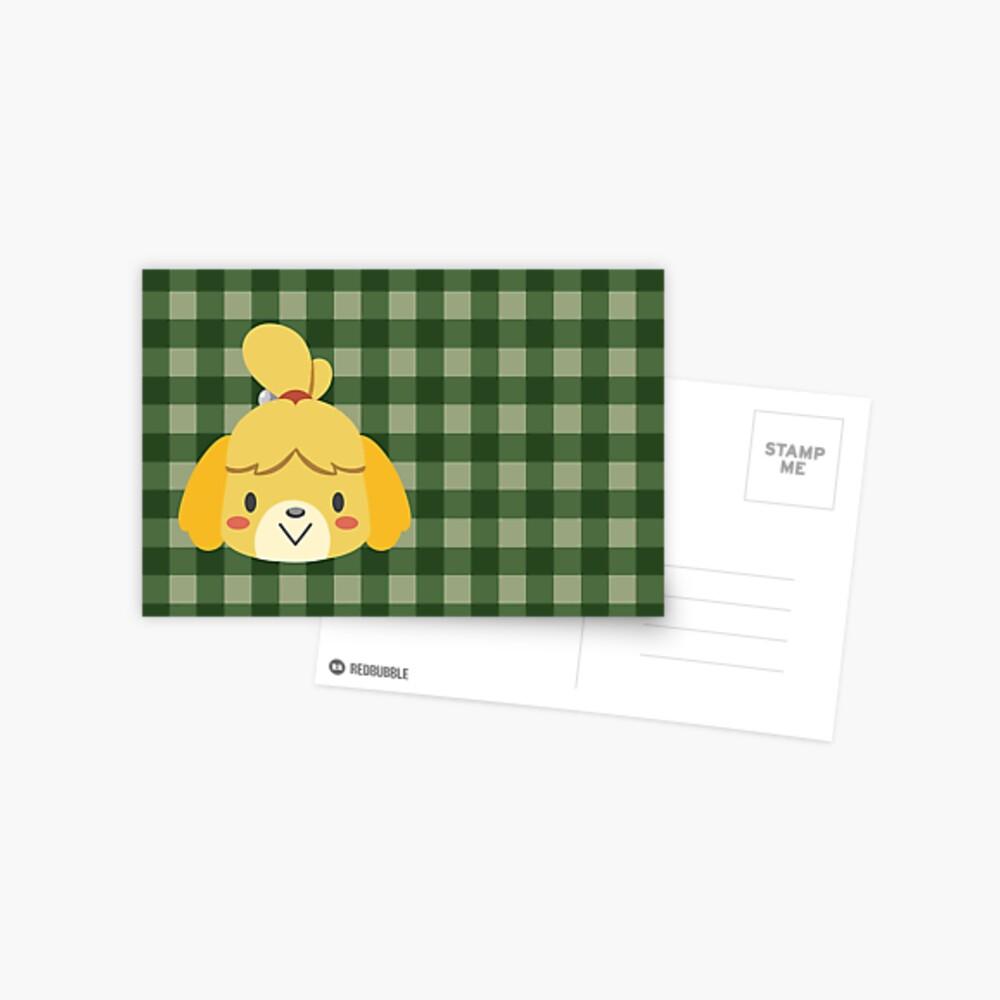 Isabelle Tierüberquerung Postkarte