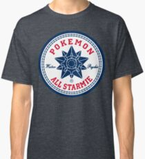All Starmie Converse star Pokemon Classic T-Shirt