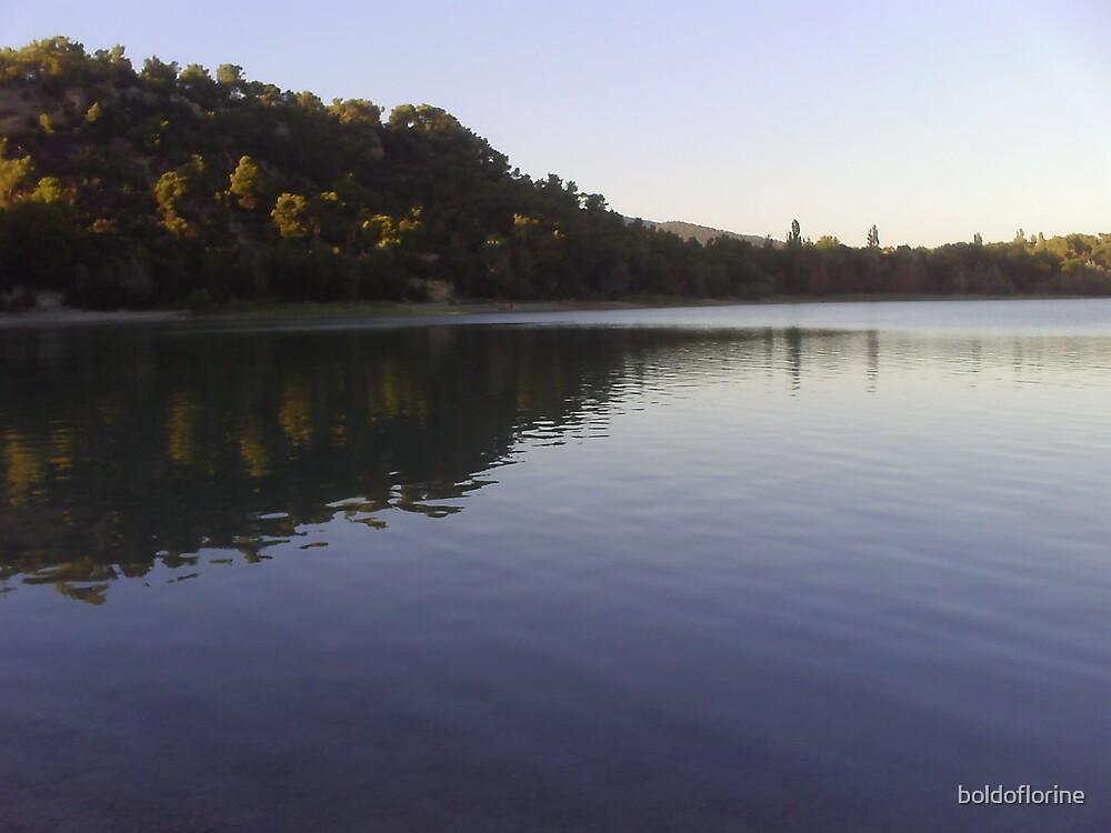 Lake landscape by boldoflorine