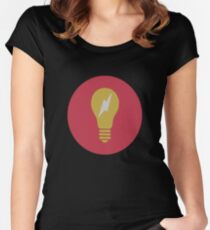 Camiseta entallada de cuello redondo El bulbo Sims 4