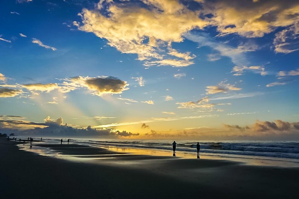 Beach Sunrise Surprise II #photography #art #landscape by Jacqueline Cooper