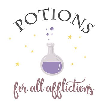 Potions for all afflictions by isasaldanha