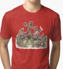 Han & Furball Tri-blend T-Shirt
