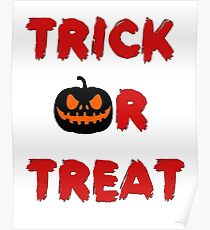 Trick or treat (Halloween) Poster