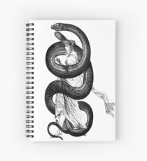 Wrapped Up In Reptillian Spiral Notebook