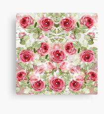 Photography illustration | Flowers Garden Roses  Canvas Print