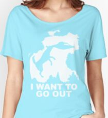 Flying Disc Dog Women's Relaxed Fit T-Shirt