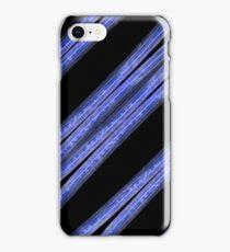 Dark Stripes Pattern iPhone Case/Skin