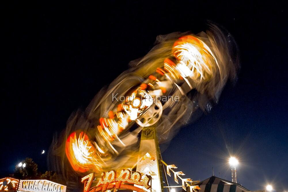 The Zipper Zipping by Kory Trapane