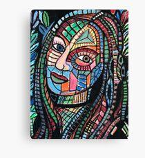 Amazon girl Canvas Print