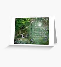 May - Willow Moon Greeting Card