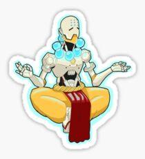 Embrace Tranquility Sticker