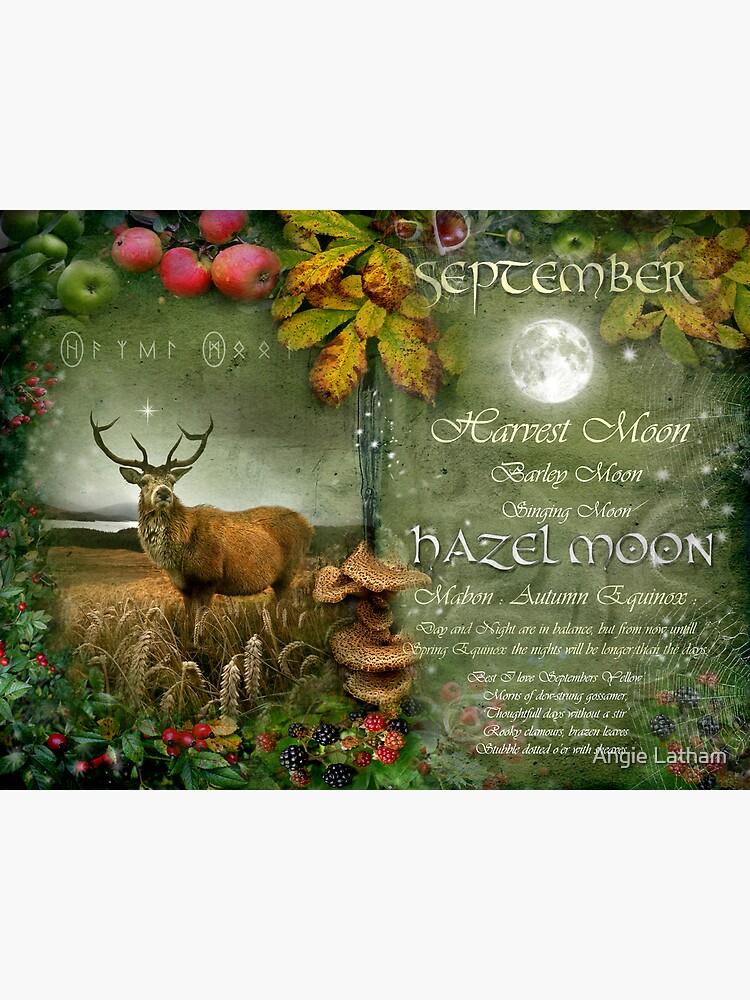 September - Hazel Moon by AngelaBarnett