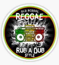 Reggae rub a dub style Sticker