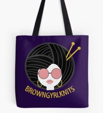 BrownGyrlKnits Markenbekleidung Tasche