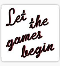 games Sticker