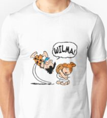 Fred e Wilma Peanuts T-Shirt