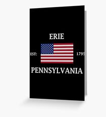 Erie Pennsylvania Greeting Card