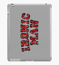 IRONIC MAN Vintage Red iPad Case/Skin