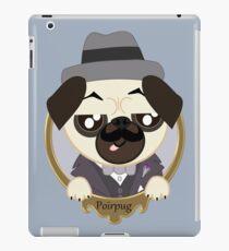 Great Detective Poirpug. Poirot the Pug iPad Case/Skin