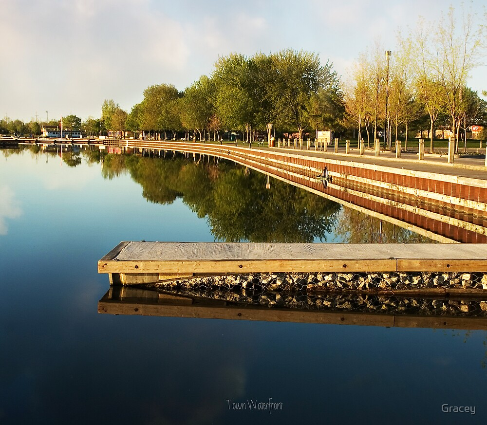 Town Waterfront by Gracey