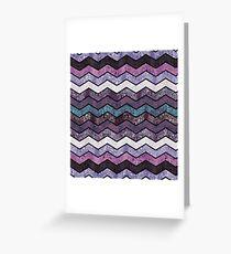 Glitter Waves IV Greeting Card