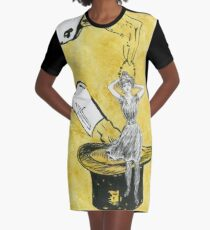 Magic Castle Gibson Girl Graphic T-Shirt Dress