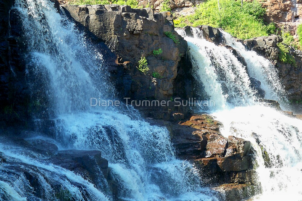 GooseBerry Falls Minnesota North Shore by Diane Trummer Sullivan