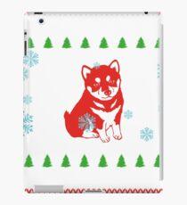 gift christmas weihnachten geschenk dog hund dog pfote  iPad Case/Skin