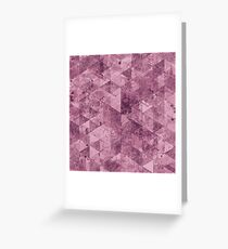 Abstract Geometric Background #28 Greeting Card