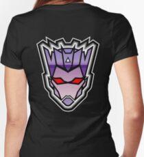 TFxGB - Evil Gozerian (Faction Head) Horizon Lines Women's Fitted V-Neck T-Shirt