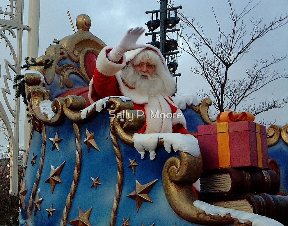 Santa Waved At Me by Sally P  Moore