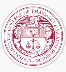 MCPHS University Logo Sticker