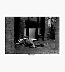 """Street Life"" Photographic Print"