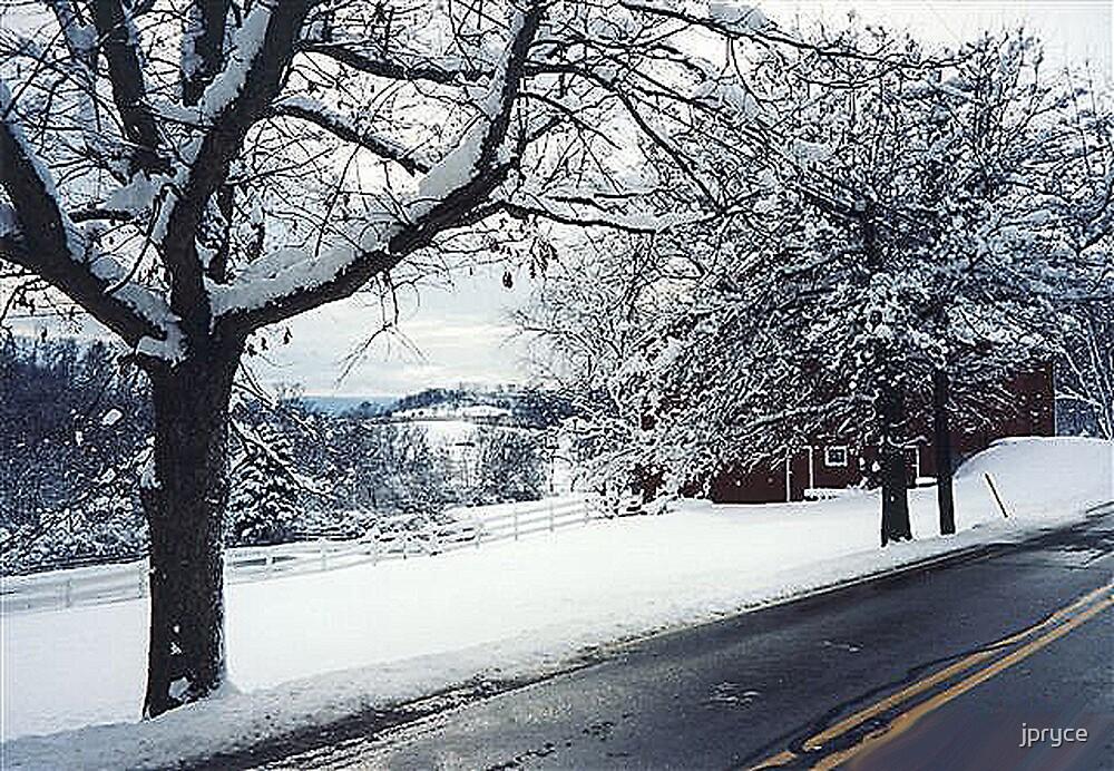 Winter Scene by jpryce