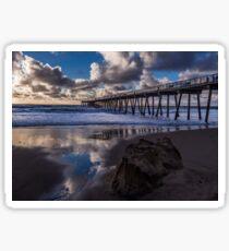 Hermosa Beach Pier Sticker