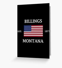 Billings Montana Greeting Card