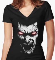 The Berserker Women's Fitted V-Neck T-Shirt