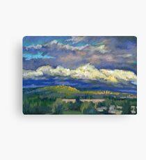 Golden Cloud Above Vancouver Canvas Print