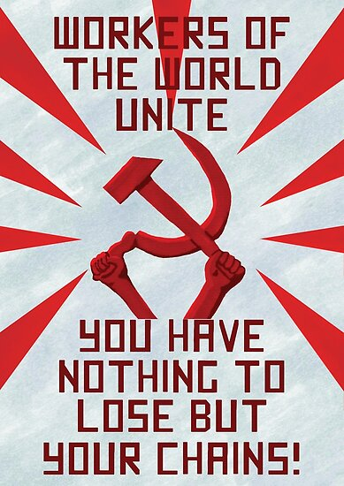 Quot Communist Propaganda Poster Quot Poster By Pennee Redbubble