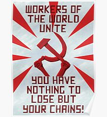 Hammer And Sickle Posters   Redbubble