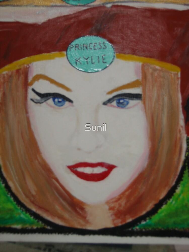 Princess Kylie Minogue by Sunil