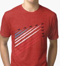 RAF Red Arrows Formation Tri-blend T-Shirt