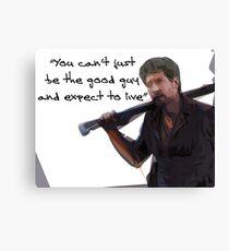 Walking Dead Shane Canvas Print