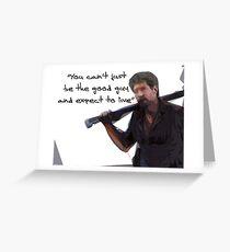 Walking Dead Shane Greeting Card