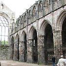 Holyroodhouse Abbey, Edinburg, Scotland by chord0